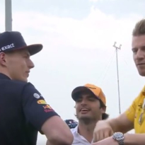 'F**k Off' - Nico Hulkenberg swats away Netflix microphone before Bahrain GP