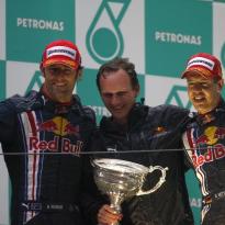 10 jaar geleden: Sebastian Vettel bezorgt Red Bull eerste zege in Formule 1