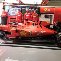 Ferrari verwijdert logo's Mission Winnow voor komende twee races