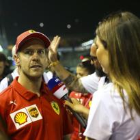 """Vettel over negeren boordradio: """"Was niet juist om te doen"""""""