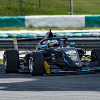 Double podium success for Chadwick in Sepang