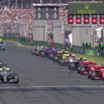 VIDEO: De start van de Australische Grand Prix