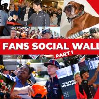Dit deelden de F1-coureurs en teams recentelijk op social media