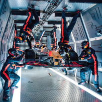 VIDEO: Red Bull complete zero-gravity pitstop