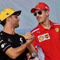 "Daniel Ricciardo over mogelijke transfer naar Ferrari: ""Niets nieuws"""