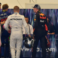 THROWBACK: Verstappen, Ocon square up after Brazil crash