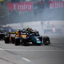 Formule 2 - Aitken et Latifi triomphent à Bakou