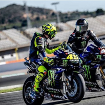 Hamilton impresses Rossi boss after MotoGP test