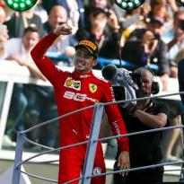 VIDÉO : Leclerc fait la fête avec le Prince Albert !