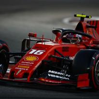 Leclerc credits Vettel for 2019 success