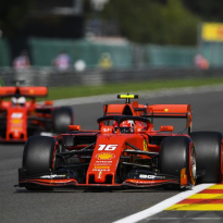 VIDEO: Leclerc, Vettel Monza laps prove slipstream's impact