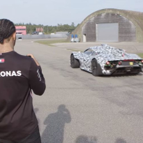 VIDEO: Hamilton meets Mercedes Project ONE hypercar
