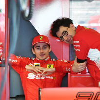 Leclerc explains how Binotto can be a 'tough' boss