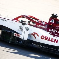 Raikkonen fastest for Alfa Romeo on day two in Spain