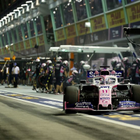 Perez to face Singapore GP grid penalty