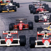 Prost vs Senna: de legendarische crash van '89 in beeld