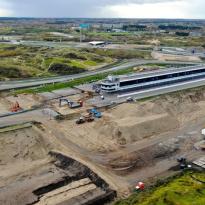 Zandvoort ligt op schema: 'Maar het weer kan nog roet in het eten gooien'