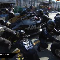 VIDEO: Haas suffer pit-stop failure in Australia again!