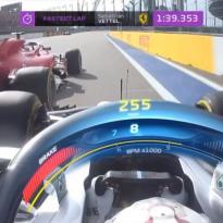 VIDEO: Vettel and Hamilton in EPIC Sochi scrap!