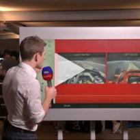 VIDEO: Hamilton and Vettel's qualifying laps compared