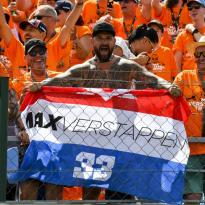 """Verstappen roemt Oranje-fans: """"Is geweldig, geeft positieve energie"""""""