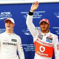 "Alonso: ""Schumacher en Hamilton danken succes aan hun auto"""