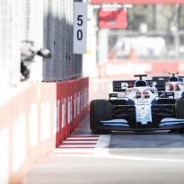 How Hamilton-Bottas Baku battle panicked Russell