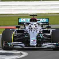 Hamilton comfortable in the W11