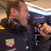 VIDEO: Red Bull karaoke brightens up rain-ruined COTA session