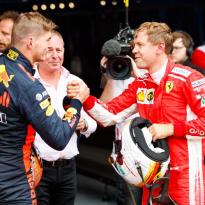 Verstappen: 'Ferrari en Mercedes uitdagen in Frankrijk'