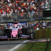 Sergio Perez: 'Balans van de auto is momenteel de grootste uitdaging'