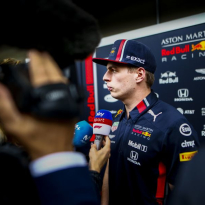 """Verstappen over Ferrari-uitspraken: """"Wil het hier niet meer over hebben"""""""