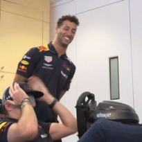 VIDEO: Can Max Verstappen drive a blindfolded lap of Interlagos?