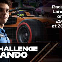 Altijd al eens willen racen tegen Lando Norris? Vanavond is je kans!
