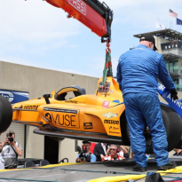 VIDEO: Alonso in huge crash in Indy test