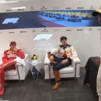 VIDEO: Raikkonen trolling Hamilton?