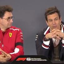 VIDÉO : Wolff, Horner et Binotto plaisantent sur le docu F1 de Netflix
