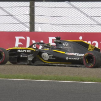 VIDEO: BIG Hukenberg crash ends FP3 early