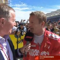 VIDEO: Raikkonen reacts to COTA win
