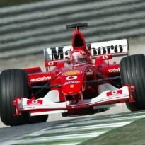 La F2002 de Schumacher mise aux enchères à Abou Dabi