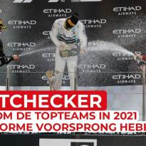 Waarom de topteams in 2021 een enorme voorsprong hebben | FactChecker