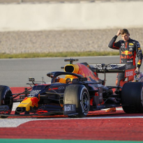 Verstappen admits fault for pre-season spins