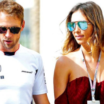 Jenson Button becomes a father for the first time!