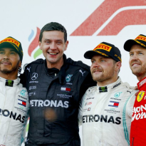 Bottas taking the fight to Hamilton catches Brawn's eye