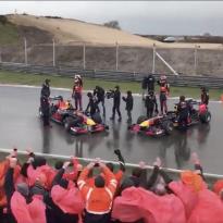 Red Bull-promo Verstappen grote teleurstelling voor bezoekers