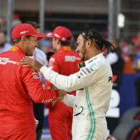 Vettel gives Hamilton credit for F1 dominance