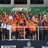 Sainz: Brazil podium 'weird' but the new target for McLaren