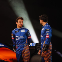 Lando Norris and Carlo Sainz look back and forward ahead of the 2020 season