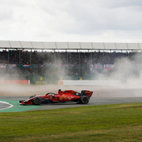 Sebastian Vettel receives two penalty points for Verstappen crash