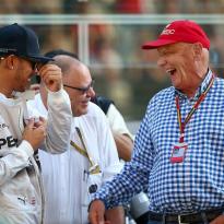 Hamilton: Lauda the reason I'm a five-time champion